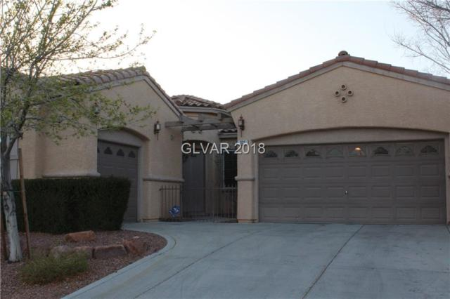 321 Corsicana, Las Vegas, NV 89138 (MLS #1969571) :: Realty ONE Group