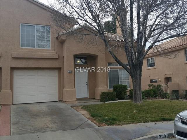 209 Winterport, Henderson, NV 89074 (MLS #1969734) :: Realty ONE Group
