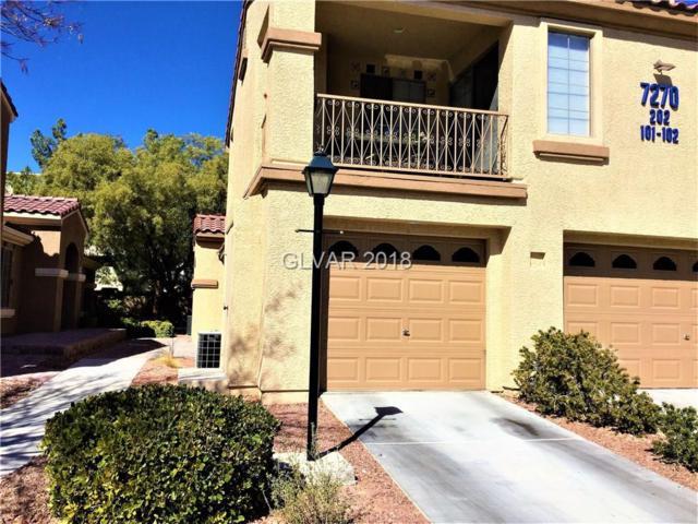 7270 Sheared Cliff #202, Las Vegas, NV 89149 (MLS #1970807) :: Signature Real Estate Group