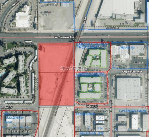W. Tropicana Ave, Las Vegas, NV 89103 (MLS #1972041) :: Trish Nash Team