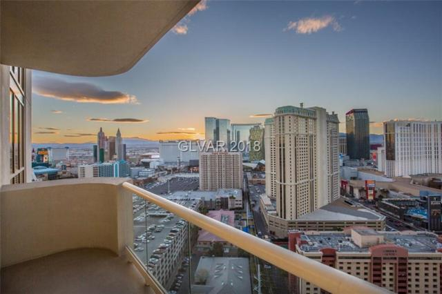 135 Harmon 2501 & 2503, Las Vegas, NV 89109 (MLS #1972813) :: Signature Real Estate Group