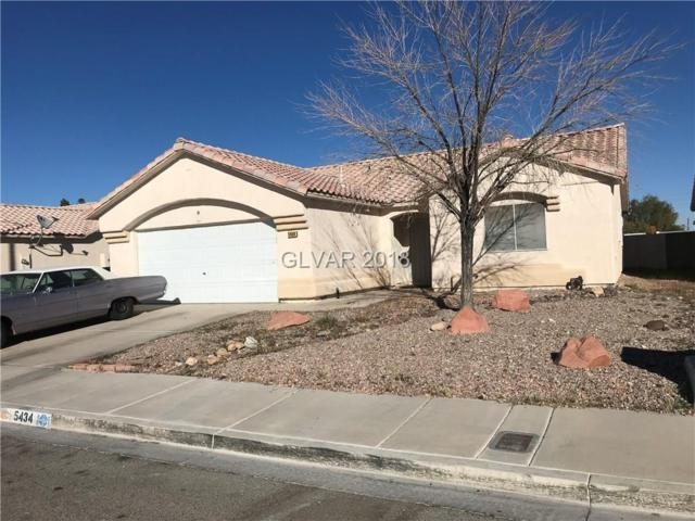 5434 Iberville, North Las Vegas, NV 89031 (MLS #1974323) :: Realty ONE Group