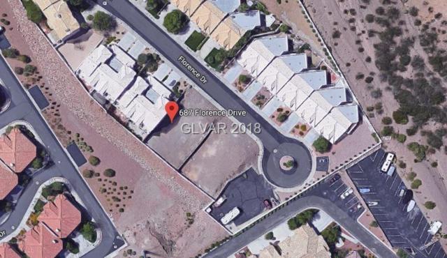 687 Florence Drive, Boulder City, NV 89005 (MLS #1974639) :: The Lindstrom Group