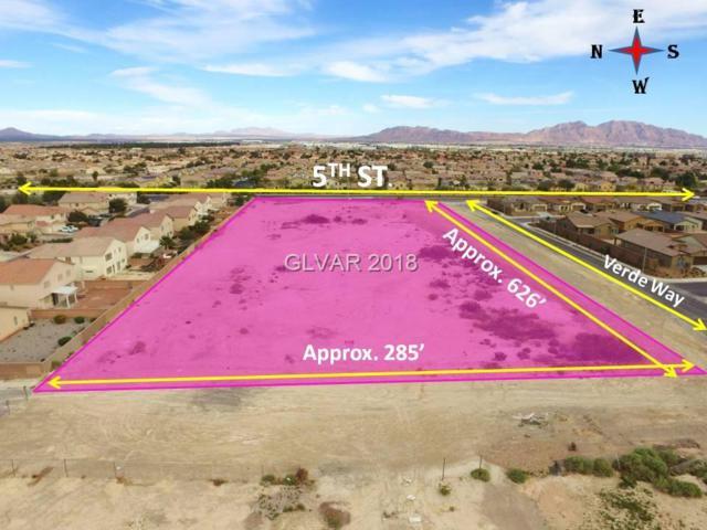 5th, North Las Vegas, NV 89031 (MLS #1974798) :: Vestuto Realty Group
