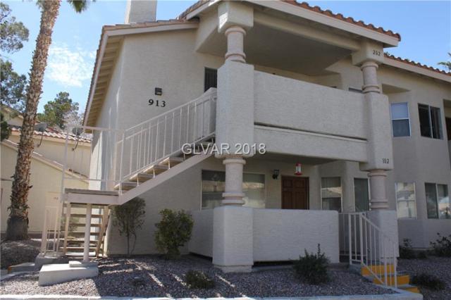 913 Boulder Mesa #202, Las Vegas, NV 89128 (MLS #1975756) :: Sennes Squier Realty Group