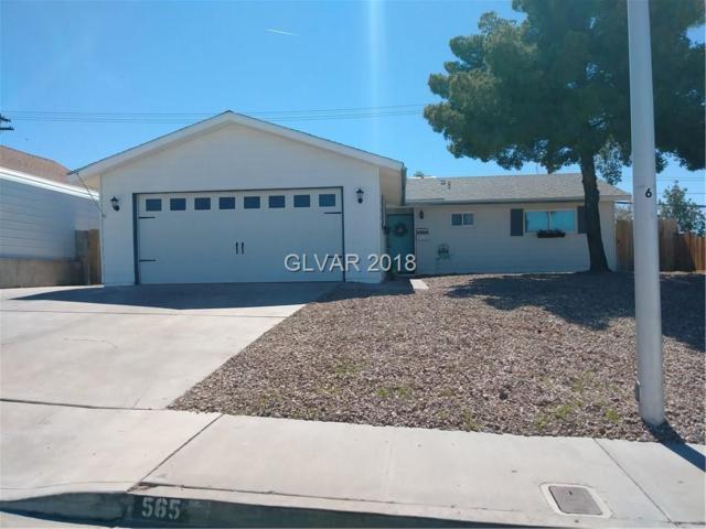 565 Shoshone, Boulder City, NV 89005 (MLS #1976153) :: Signature Real Estate Group