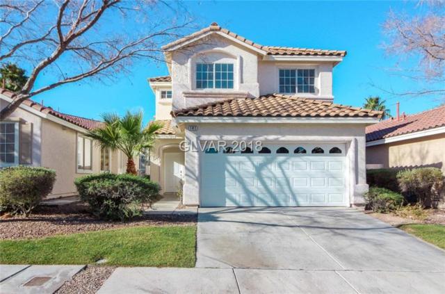 141 Pebble Ridge, Henderson, NV 89012 (MLS #1976436) :: Signature Real Estate Group
