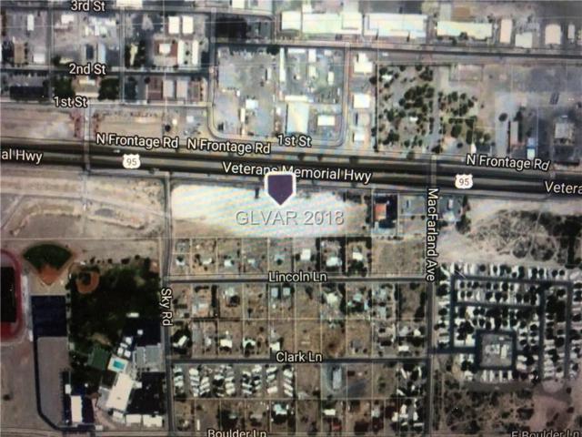 Indian Springs Multi Parcels, Indian Springs, NV 89018 (MLS #1976510) :: Billy OKeefe | Berkshire Hathaway HomeServices