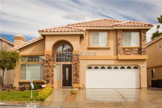 2422 Antler Point, Henderson, NV 89074 (MLS #1976842) :: Signature Real Estate Group
