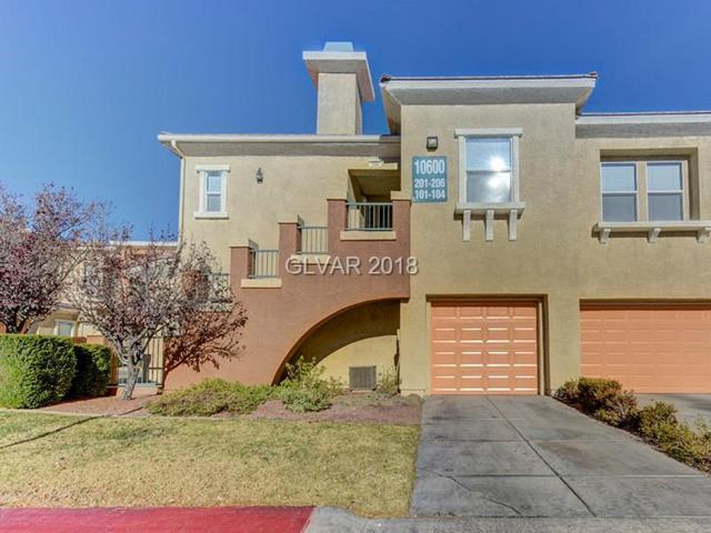 10600 Amber Ridge #205, Las Vegas, NV 89144 (MLS #1976853) :: Signature Real Estate Group