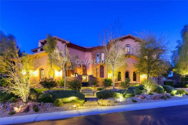 18 Bloomfield Hills, Henderson, NV 89052 (MLS #1976866) :: The Snyder Group at Keller Williams Marketplace One