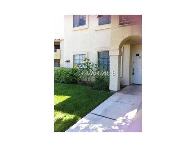 4823 Torrey Pines #102, Las Vegas, NV 89103 (MLS #1977113) :: Sennes Squier Realty Group