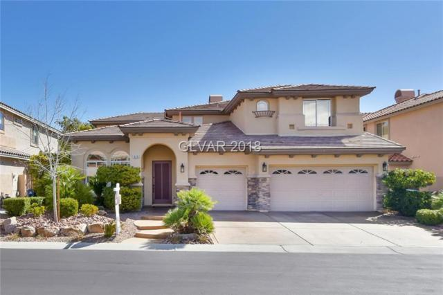 376 Santa Candida, Las Vegas, NV 89138 (MLS #1977546) :: Realty ONE Group