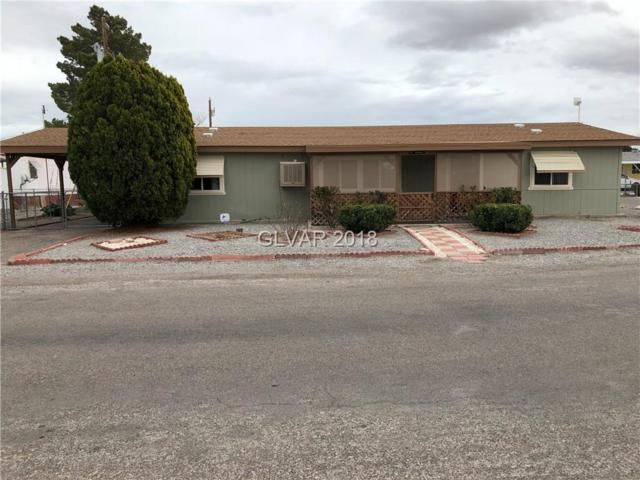 110 W Zapata, Pahrump, NV 89048 (MLS #1977630) :: The Snyder Group at Keller Williams Realty Las Vegas