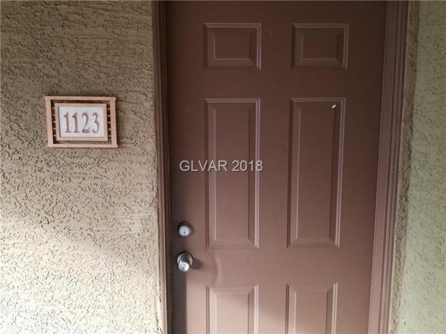 5055 W Hacienda #1123, Las Vegas, NV 89118 (MLS #1979739) :: Sennes Squier Realty Group