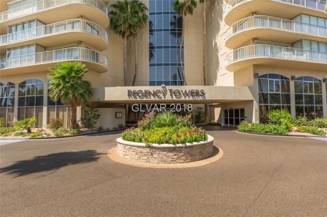 3111 Bel Air 4B, Las Vegas, NV 89109 (MLS #1979821) :: The Snyder Group at Keller Williams Realty Las Vegas