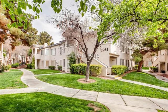 5261 Caspian Springs #203, Las Vegas, NV 89102 (MLS #1980767) :: Signature Real Estate Group