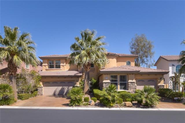 374 Rancho La Costa, Las Vegas, NV 89138 (MLS #1981140) :: Realty ONE Group