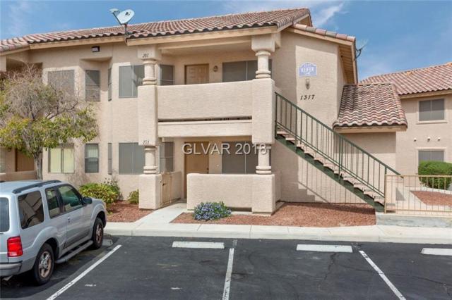 1317 Keifer #101, Las Vegas, NV 89128 (MLS #1981558) :: Sennes Squier Realty Group