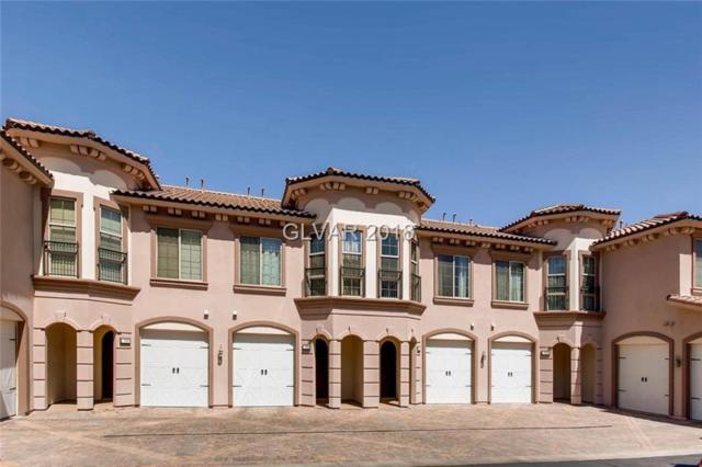 10 Via Vasari #104, Henderson, NV 89011 (MLS #1981698) :: Vestuto Realty Group