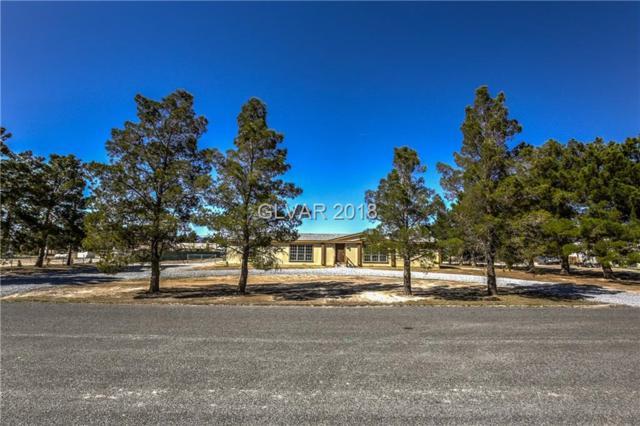 550 W Fairbanks, Pahrump, NV 89060 (MLS #1981707) :: The Snyder Group at Keller Williams Realty Las Vegas