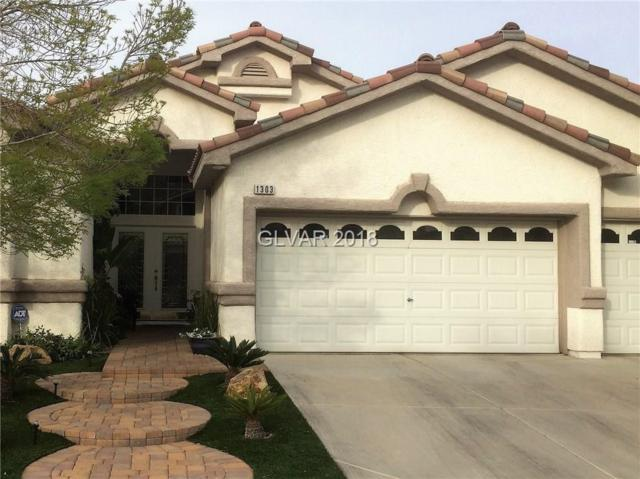 1303 Rolling Sunset, Henderson, NV 89052 (MLS #1982011) :: Trish Nash Team