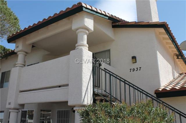 7937 Terrace Rock #201, Las Vegas, NV 89128 (MLS #1982079) :: Sennes Squier Realty Group