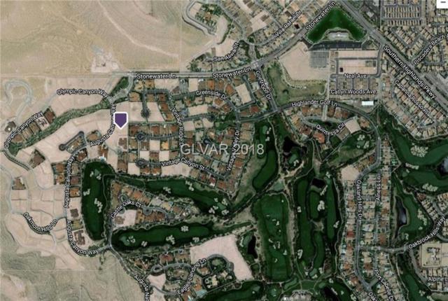 10 Augusta Canyon, Las Vegas, NV 89141 (MLS #1982818) :: Trish Nash Team