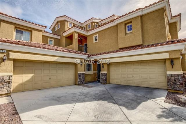 1110 Tuscan Sky #102, Henderson, NV 89002 (MLS #1983411) :: The Snyder Group at Keller Williams Realty Las Vegas
