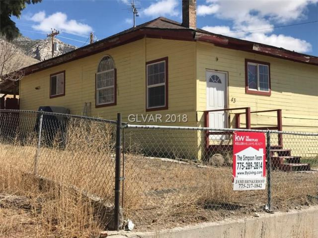 43 First Street, Mcgill, NV 89318 (MLS #1984694) :: Catherine Hyde at Simply Vegas