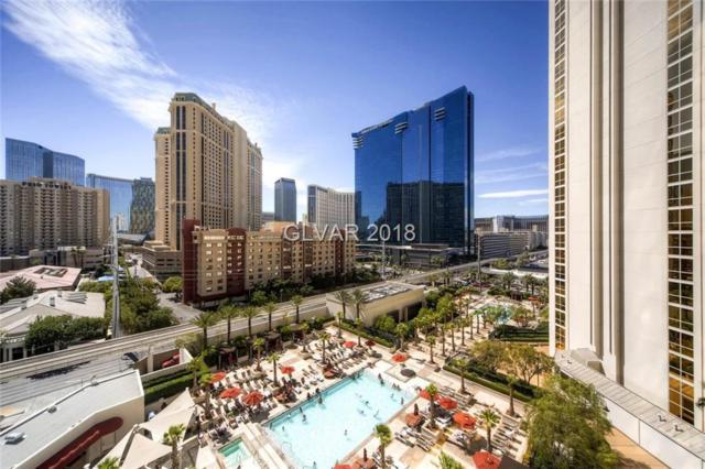 135 E Harmon #301, Las Vegas, NV 89109 (MLS #1984799) :: Catherine Hyde at Simply Vegas