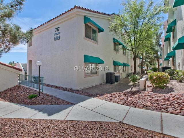 737 Wheat Ridge #104, Las Vegas, NV 89145 (MLS #1985099) :: Catherine Hyde at Simply Vegas