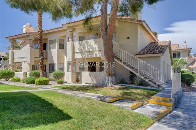 1321 Pinto Rock #201, Las Vegas, NV 89128 (MLS #1985491) :: Sennes Squier Realty Group