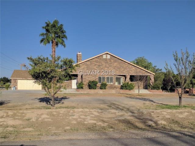 3980 S Oakridge, Pahrump, NV 89048 (MLS #1985504) :: The Snyder Group at Keller Williams Realty Las Vegas