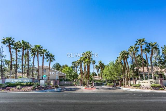 10032 Summer Oak #101, Las Vegas, NV 89134 (MLS #1986493) :: Trish Nash Team