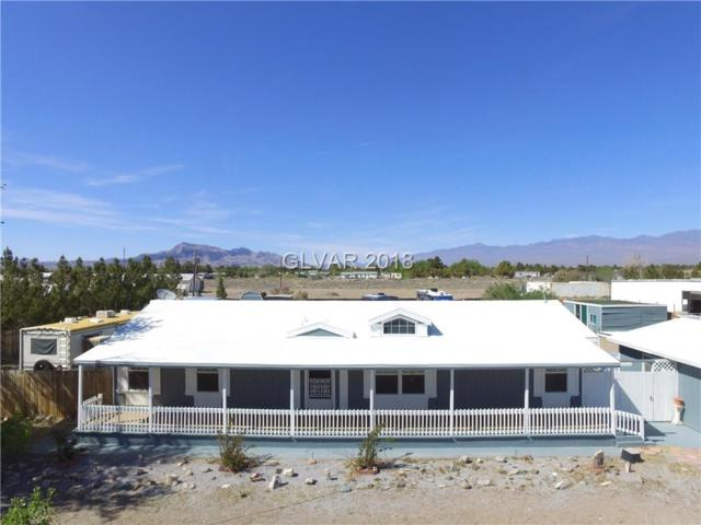 1800 W Irons, Pahrump, NV 89048 (MLS #1986680) :: The Snyder Group at Keller Williams Realty Las Vegas