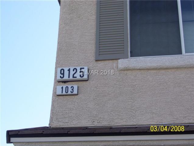9125 Fish Tail #103, Las Vegas, NV 89149 (MLS #1986906) :: Sennes Squier Realty Group