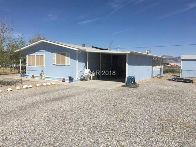 2910 W Rio Rico, Pahrump, NV 89048 (MLS #1987525) :: The Snyder Group at Keller Williams Realty Las Vegas