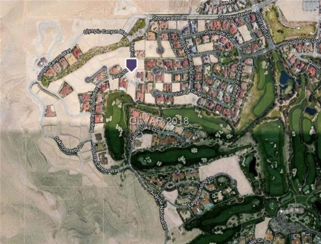 10 Cottonwood Canyon, Las Vegas, NV 89141 (MLS #1988708) :: Trish Nash Team