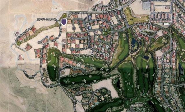 2 Augusta Canyon, Las Vegas, NV 89141 (MLS #1988725) :: Trish Nash Team