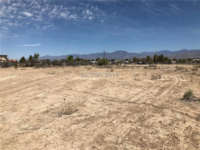 1860 E Casey, Pahrump, NV 89048 (MLS #1988878) :: The Snyder Group at Keller Williams Realty Las Vegas