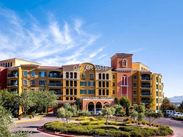 30 Strada Di Villaggio #315, Henderson, NV 89011 (MLS #1989299) :: The Snyder Group at Keller Williams Realty Las Vegas
