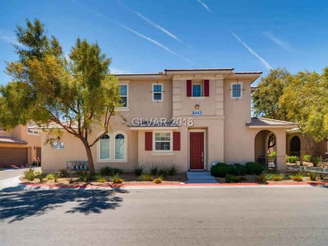 8443 Classique #101, Las Vegas, NV 89178 (MLS #1989715) :: The Snyder Group at Keller Williams Realty Las Vegas