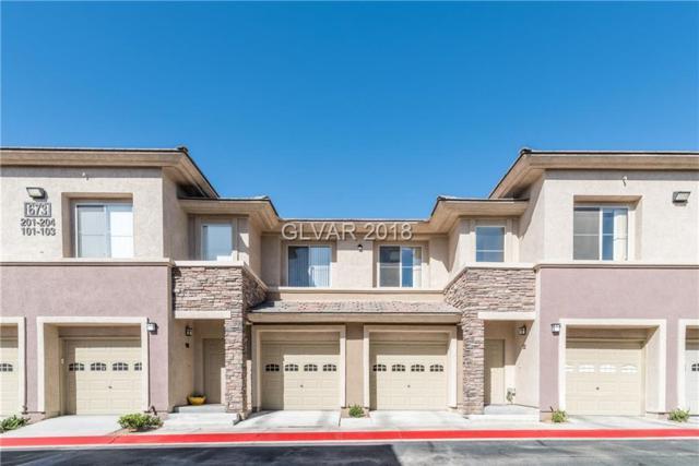 673 Peachy Canyon #203, Las Vegas, NV 89144 (MLS #1990119) :: The Snyder Group at Keller Williams Realty Las Vegas