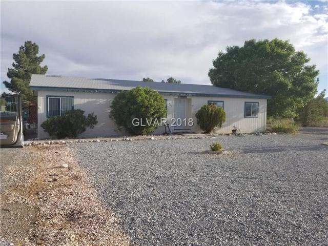 1821 E Pioche, Pahrump, NV 89048 (MLS #1990163) :: The Snyder Group at Keller Williams Realty Las Vegas