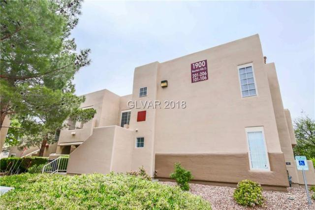 1900 Mountain Hills #206, Las Vegas, NV 89128 (MLS #1990865) :: The Snyder Group at Keller Williams Realty Las Vegas