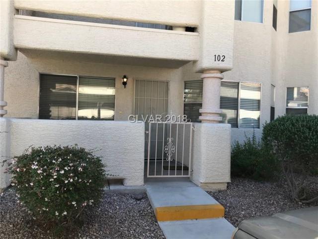 920 Rockview #102, Las Vegas, NV 89128 (MLS #1991772) :: Trish Nash Team