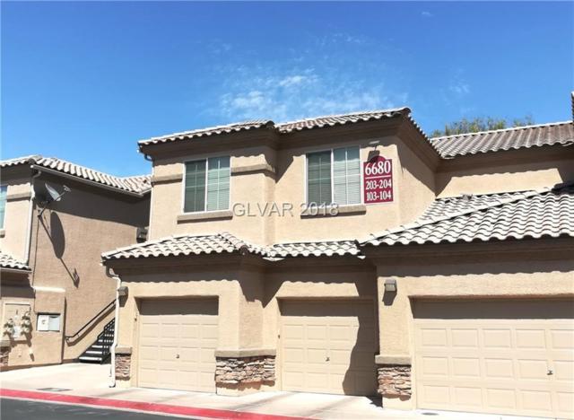 6680 Abruzzi #103, North Las Vegas, NV 89084 (MLS #1993046) :: The Snyder Group at Keller Williams Realty Las Vegas