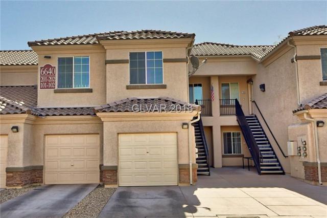 6640 Abruzzi #202, North Las Vegas, NV 89084 (MLS #1993144) :: The Snyder Group at Keller Williams Realty Las Vegas