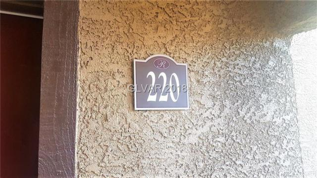 9325 Desert Inn #220, Las Vegas, NV 89117 (MLS #1994159) :: Trish Nash Team